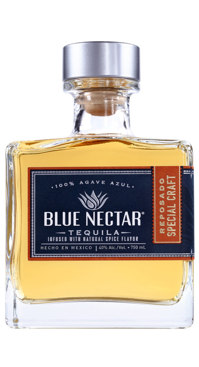 Bottle of Blue Nectar Reposado Special Craft