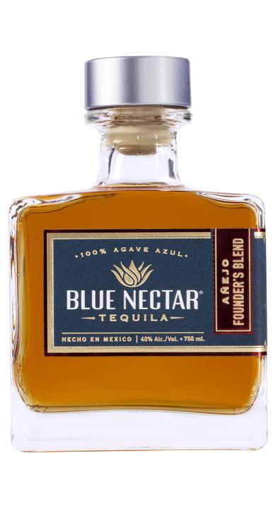 Bottle of Blue Nectar Añejo Founder's Blend