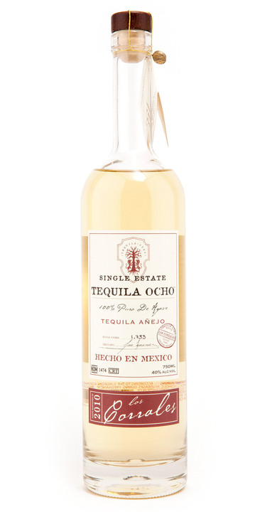 Bottle of Ocho Tequila Añejo - Los Corrales 2010