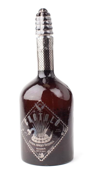 Bottle of Crotalo Tequila Extra Añejo Reserva