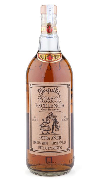 Bottle of Tapatio Excelencia Extra Añejo