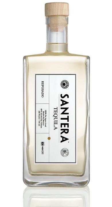 Bottle of Santera Tequila Reposado