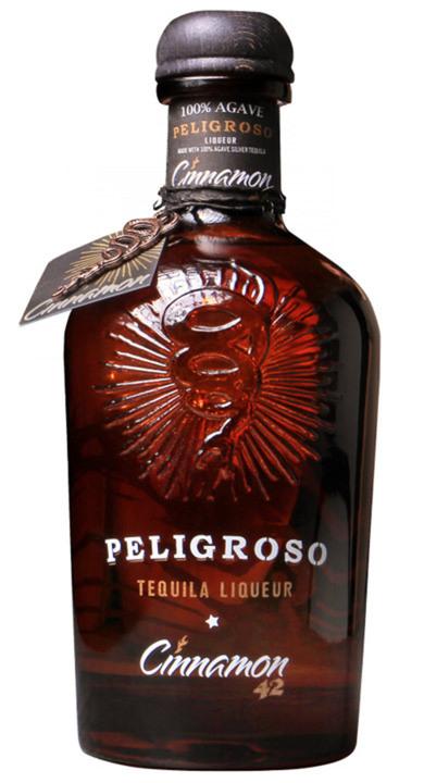 Bottle of Peligroso Cinnamon 42