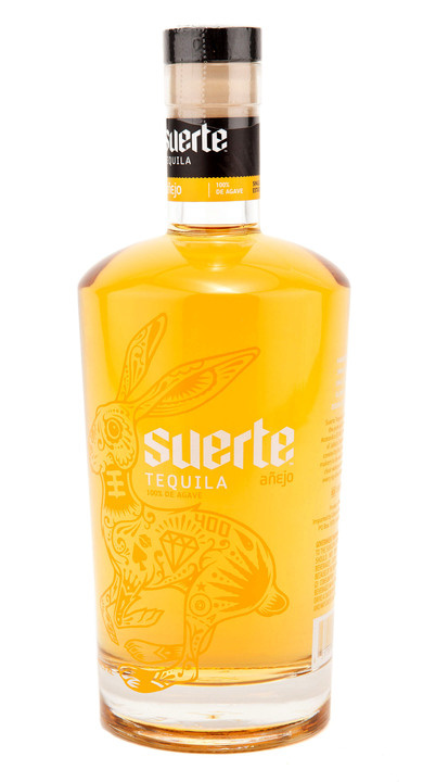 Bottle of Suerte Añejo