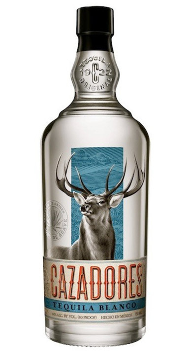 Bottle of Cazadores Tequila Blanco