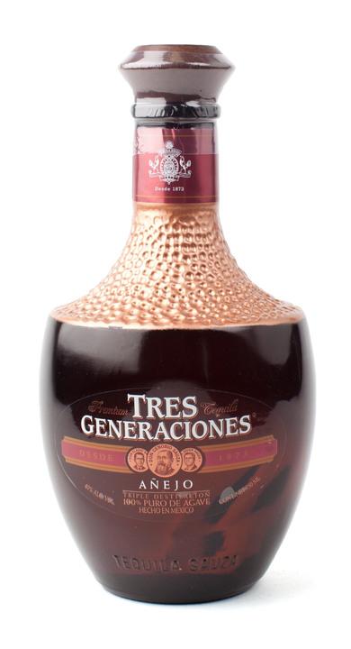 Bottle of Tres Generaciones Añejo