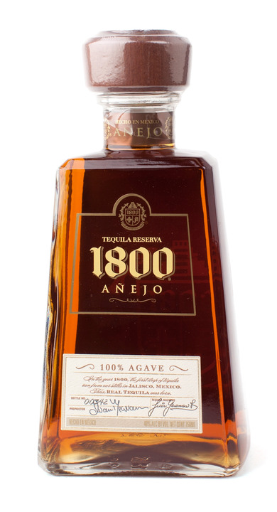 Bottle of 1800 Añejo