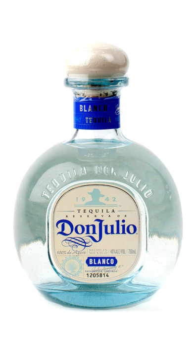 Bottle of Don Julio Blanco