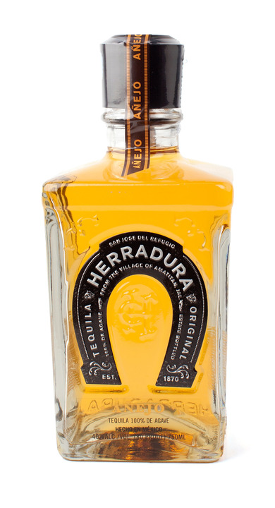 Bottle of Herradura Añejo