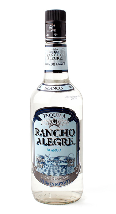 Bottle of Rancho Alegre Blanco