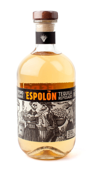 Bottle of Espolon Reposado