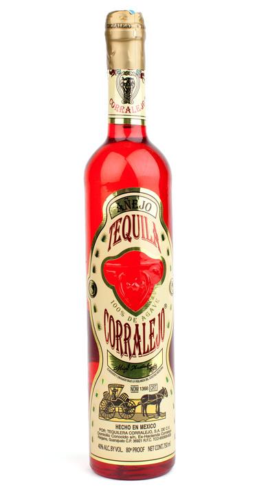 Bottle of Corralejo Añejo
