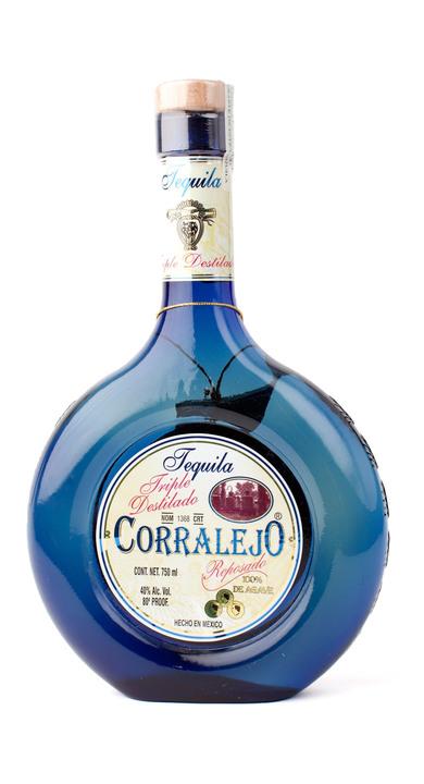 Bottle of Corralejo Reposado Triple Distilled