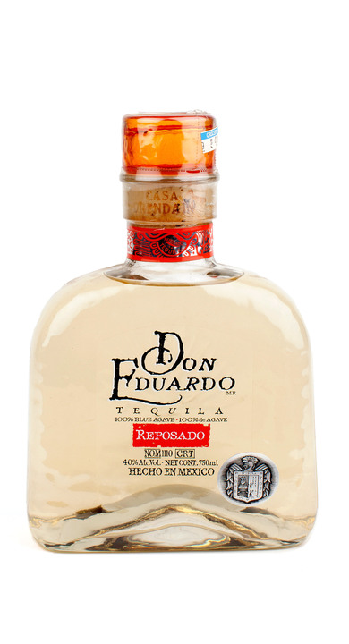 Bottle of Don Eduardo Reposado