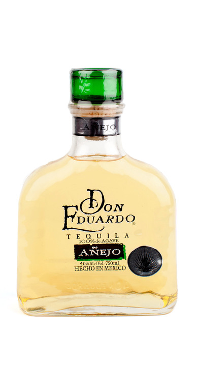 Bottle of Don Eduardo Añejo