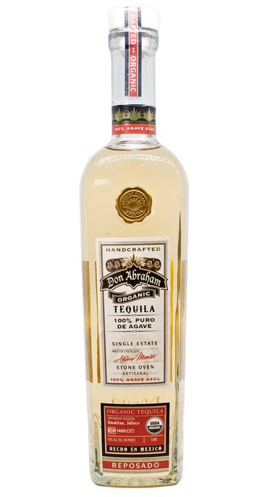 Bottle of Don Abraham Reposado