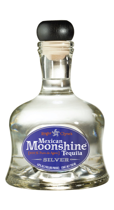 Bottle of Mexican Moonshine Tequila Silver