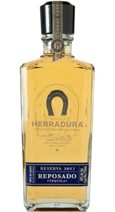 Bottle of Herradura Colección de la Casa Reserva 2013 Reposado