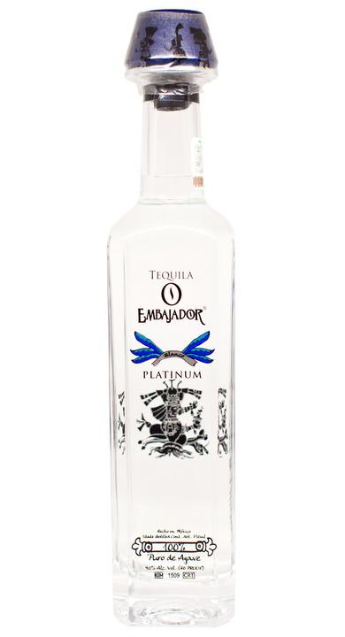 Bottle of Embajador Platinum