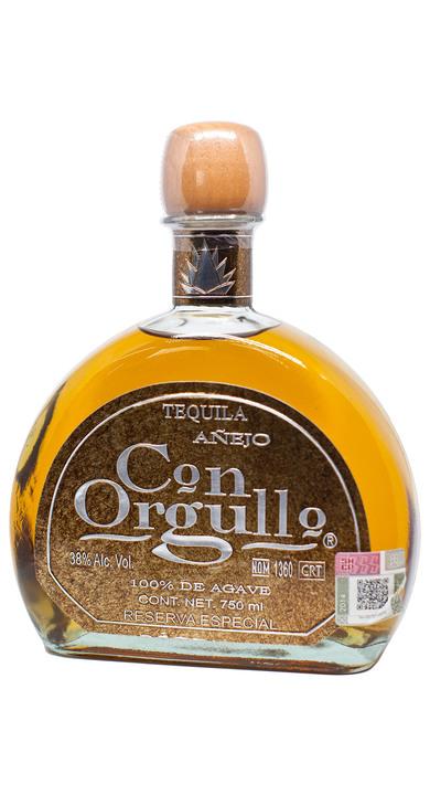 Bottle of Con Orgullo Añejo