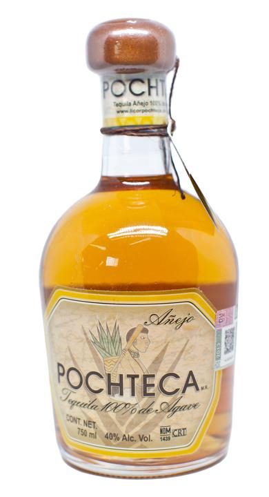 Bottle of Pochteca Añejo