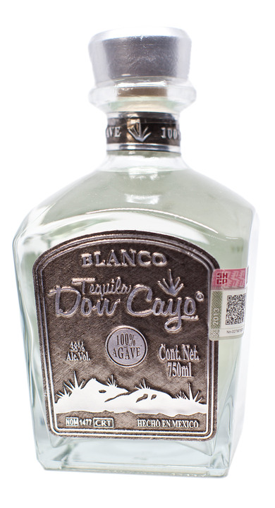 Bottle of Tequila Don Cayo Blanco