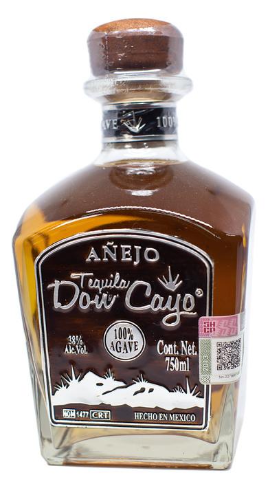 Bottle of Tequila Don Cayo Añejo