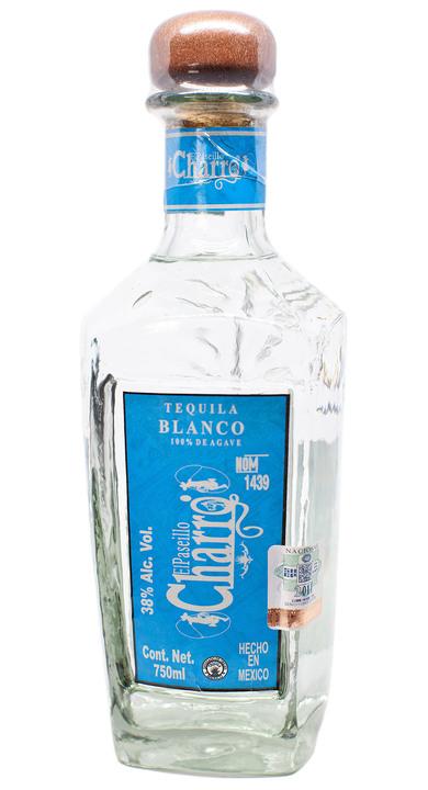 Bottle of El Paseillo Charro Tequila Blanco