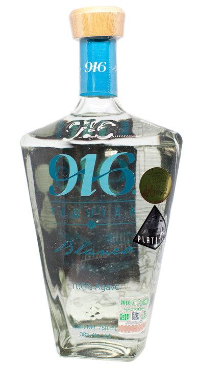 Bottle of 916 Tequila Blanco
