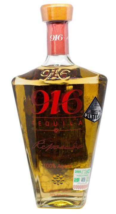 Bottle of 916 Tequila Reposado