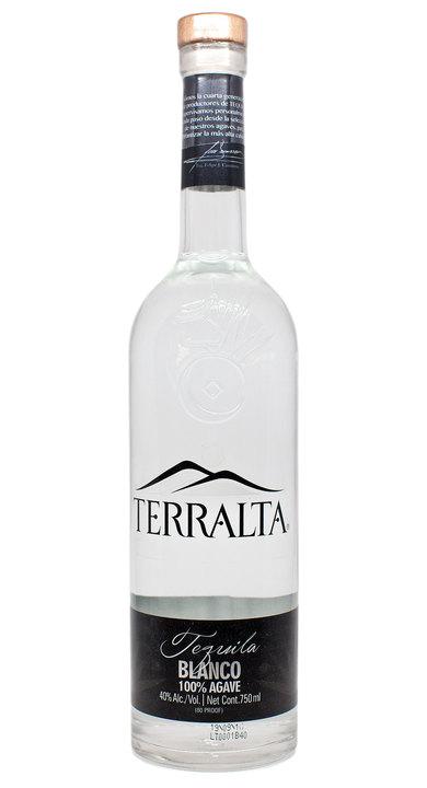 Bottle of Terralta Tequila Blanco