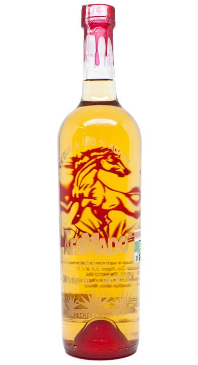 Bottle of Afamado Tequila Añejo