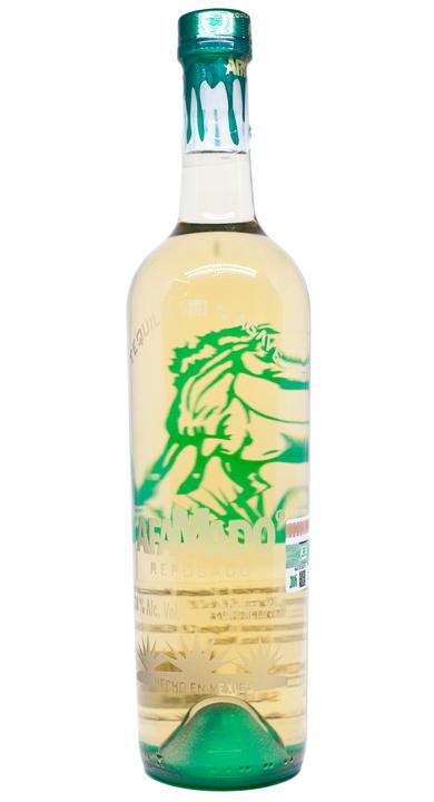 Bottle of Afamado Tequila Reposado