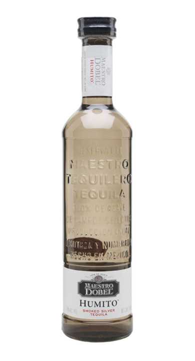 Bottle of Maestro Dobel Humito Smoked Silver Tequila