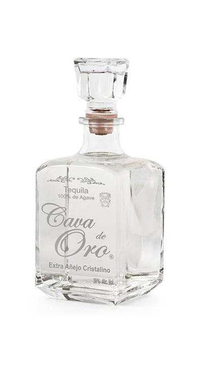 Bottle of Cava de Oro Extra Añejo Cristalino