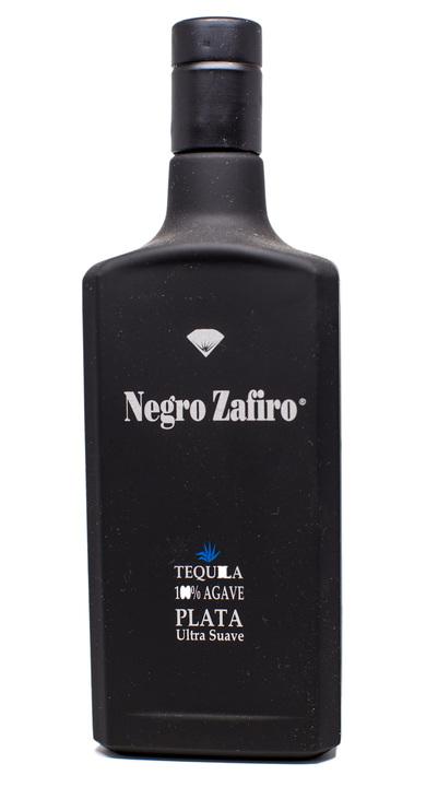 Bottle of Negro Zafiro Tequila Plata