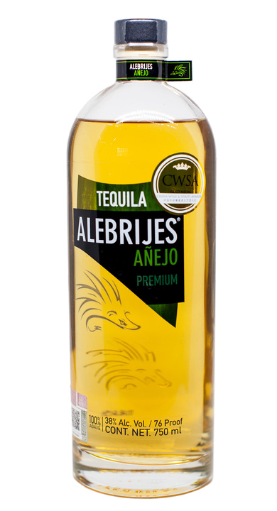 Bottle of Alebrijes Añejo