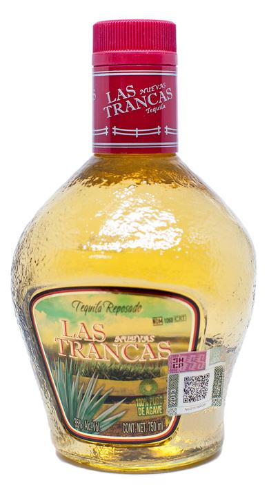 Bottle of Las Nuevas Trancas Reposado