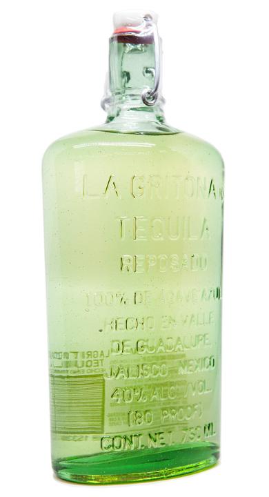 Bottle of La Gritona Reposado