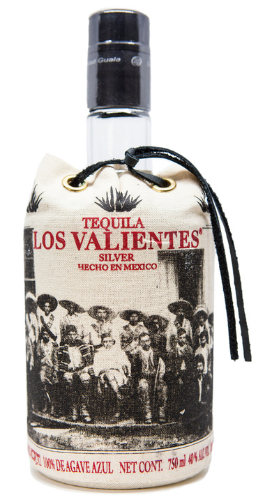 Bottle of Los Valientes Tequila Silver