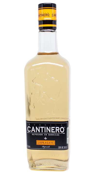 Bottle of Cantinero Reposado