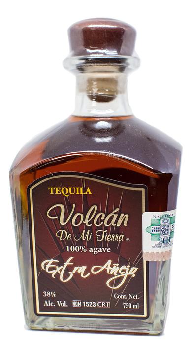 Bottle of Volcan de Mi Tierra Extra Añejo