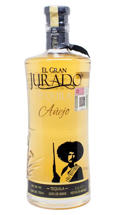 Bottle of El Gran Jurado Añejo