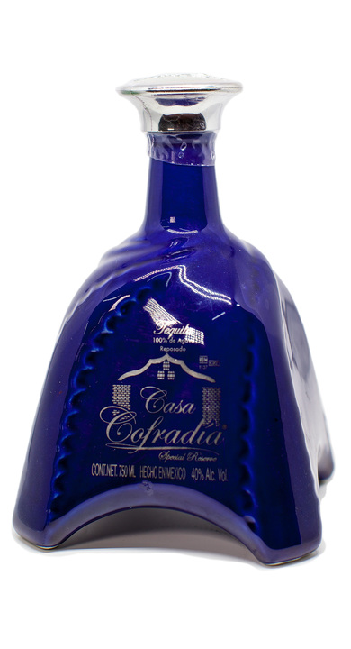 Bottle of Casa Cofradia Special Reserve Reposado