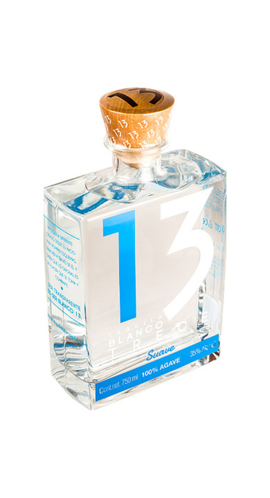 Bottle of Tequila Blanco 13 Suave