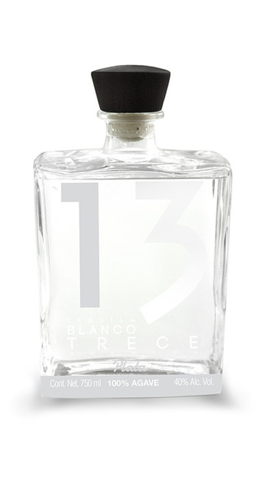Bottle of Tequila Blanco 13 Plata