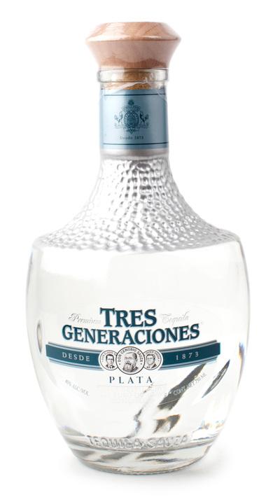 Bottle of Tres Generaciones Plata
