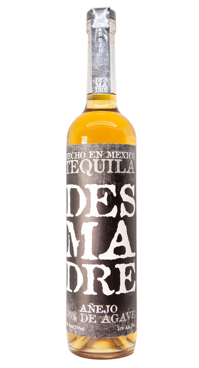 Bottle of Desmadre Añejo Tequila