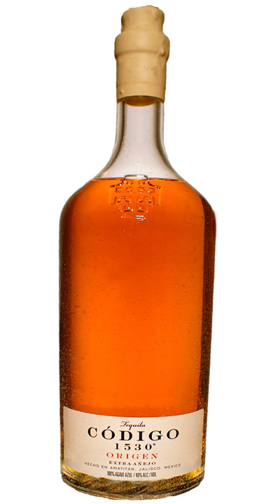 Bottle of Codigo 1530 Origen Extra Añejo