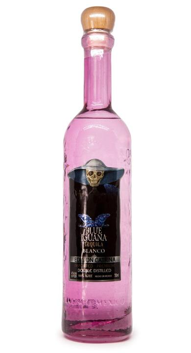 Bottle of Blue Iguana Blanco Edition Catrina